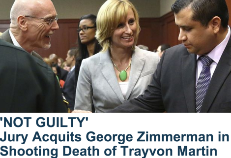 "Thoughts on Trayvon Martin's ""Non-Justice"""